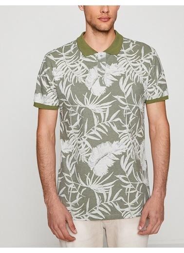 Koton Polo Yaka T-Shirt Haki